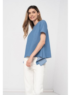 Blouse in the corners