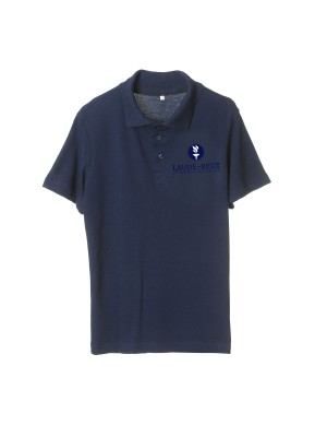 Polo shirt short sleeve with Lauder embroidered logo