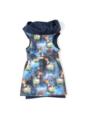Vest with 2 sides and Little Prince print