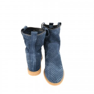 Amazing Blue Boots By Laura Olaru