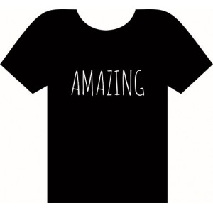 AMAZING Black T-shirt
