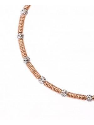 Hope bracelet rose gold plated Sterling Silver