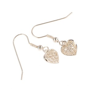 Symphony Earring Sterling Silver with Cubic Zirconia