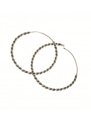 Black rhodium sterling silver