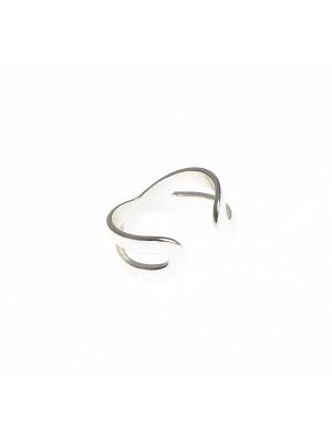 Sterling silver earcuff