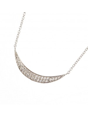 Clear Passion Necklace made of Sterling Silver