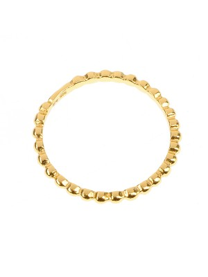 Clarity Ring Gold Plated Sterling Silver